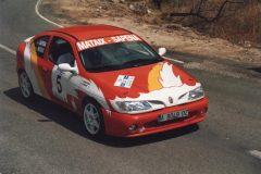 Rallye Alcoy 2001 TC 3 Tudons