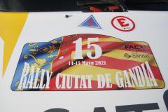 Rallye Gandia 2021 Verificaciones