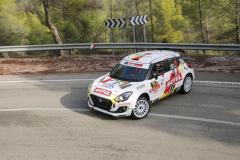 Rallye La Nucia 2020 Shakedown